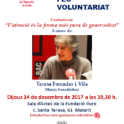 FEM VOLUNTARIAT, FES VOLUNTARIAT
