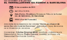 EL SENSELLARISME EN FEMENÍ A BARCELONA